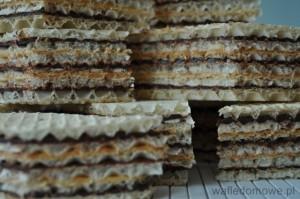 Wafle z nadzieniem kajmakowo-czekoladowym 2